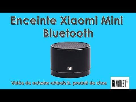 enceinte xiaomi mini bluetooth de chez gearbest unboxing. Black Bedroom Furniture Sets. Home Design Ideas