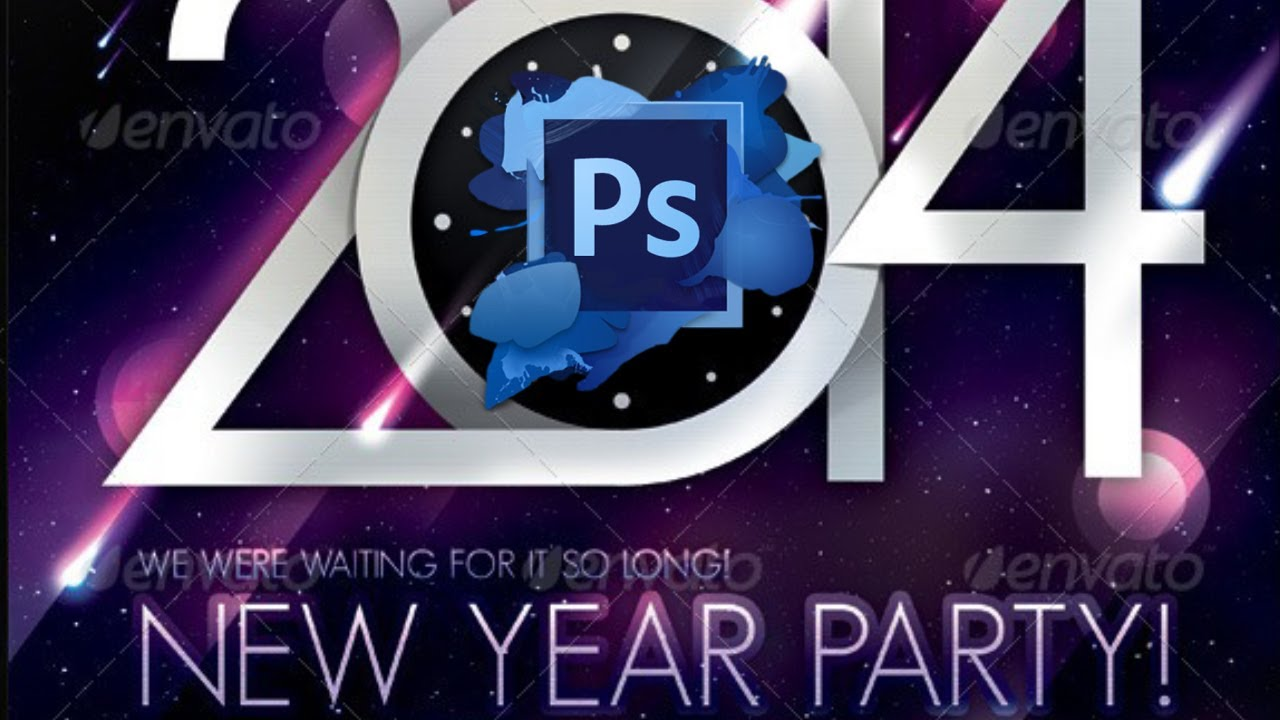2014 new year flyer templates free youtube