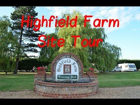 Cambridgeshire - Highfield Farm Touring Park Tour