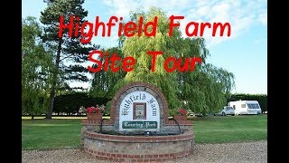 Cambridgeshire - Highfield Farm Touring Park Tour