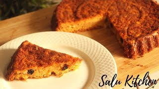 How To Make Carrot Cake || Easy and Tasty Carrot Cake || Salu Kitchen