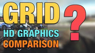Grid Autosport Nintendo Switch - HD Graphics Pack DLC Comparison
