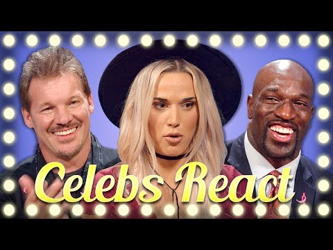 Thumbnail: WWE SUPERSTARS REACT TO TRY NOT TO FLINCH CHALLENGE