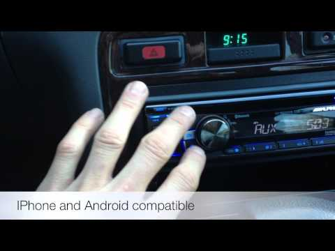 Alpine Electronics CDE-136BT Bluetooth Radio 1995 Honda Accord