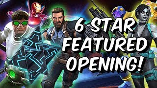 6 Star Featured Crystal Opening - Infinity War Champions! - Marvel Contest Of Champions