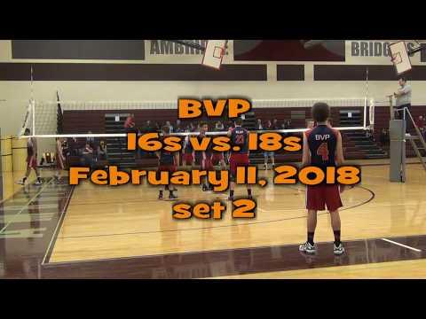 BVP February 11, 2018 18s vs 16s set 2