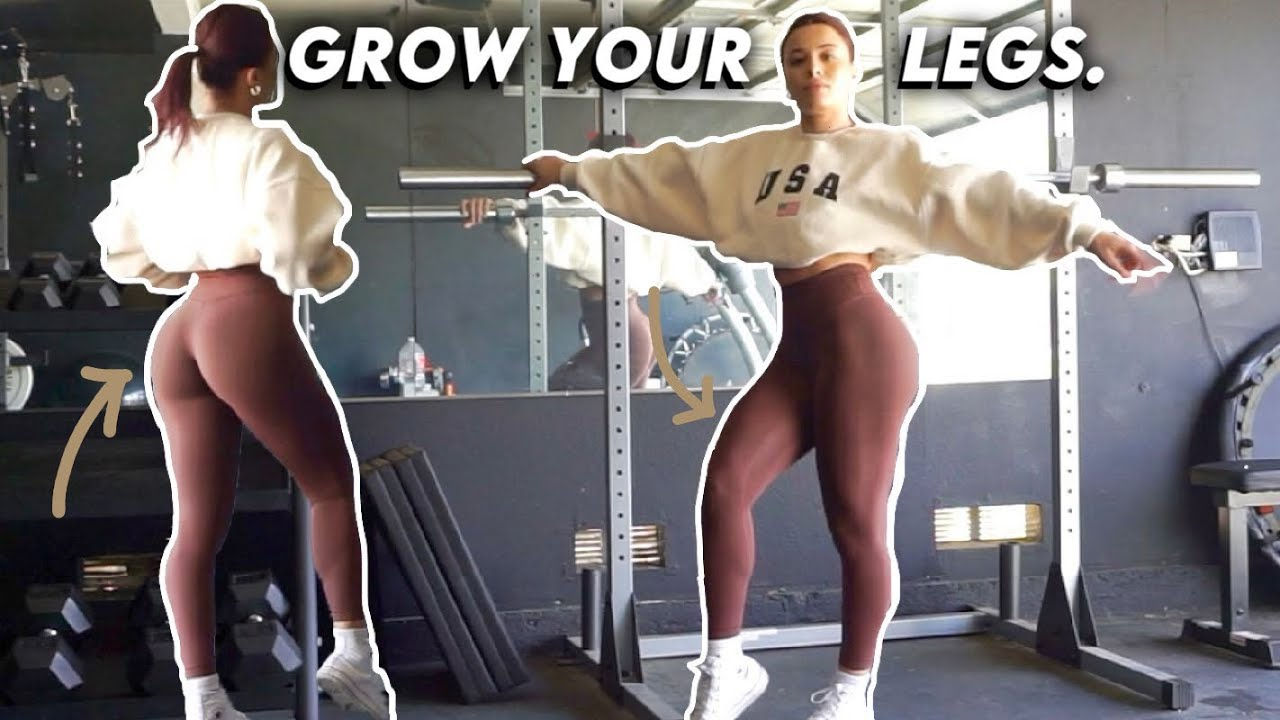 HOW TO GROW YOUR LEGS   FULL LEG WORKOUT
