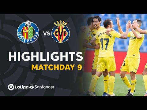 Getafe Villarreal Goals And Highlights