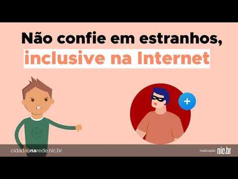 [Cidadão na Rede] Não confie em estranhos na Internet