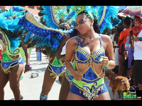 Belize City Carnival Parade 2015