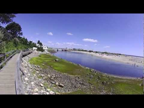 Southern Maine Coast Tour Kittery to Old Orchard Beach - YouTube