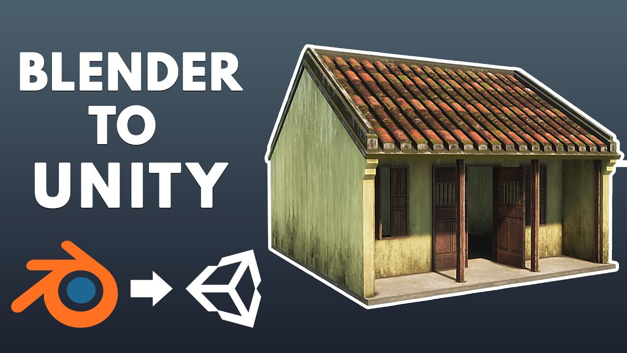 How To Export Blender to Unity 2020