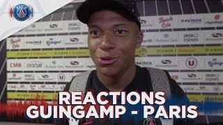 REACTIONS : GUINGAMP 1 - 3 PARIS