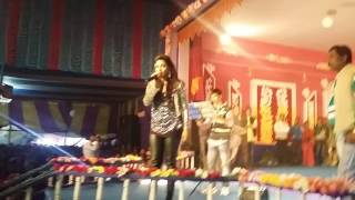 LIVE on stage..Sayantika(EGRA) & know Dev Fans LOSE Jeet Fans...