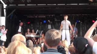 Alexander Rybak, Europe skies, Farsund, 8.7.2011