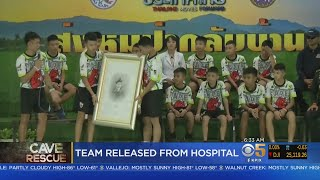 Thai Soccer Team Rescued From Cave Out Of Hospital
