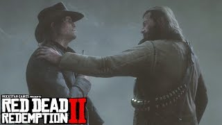 Red Dead Redemption 2 Ending   Good Ending Go With John Marston   Death Of Arthur