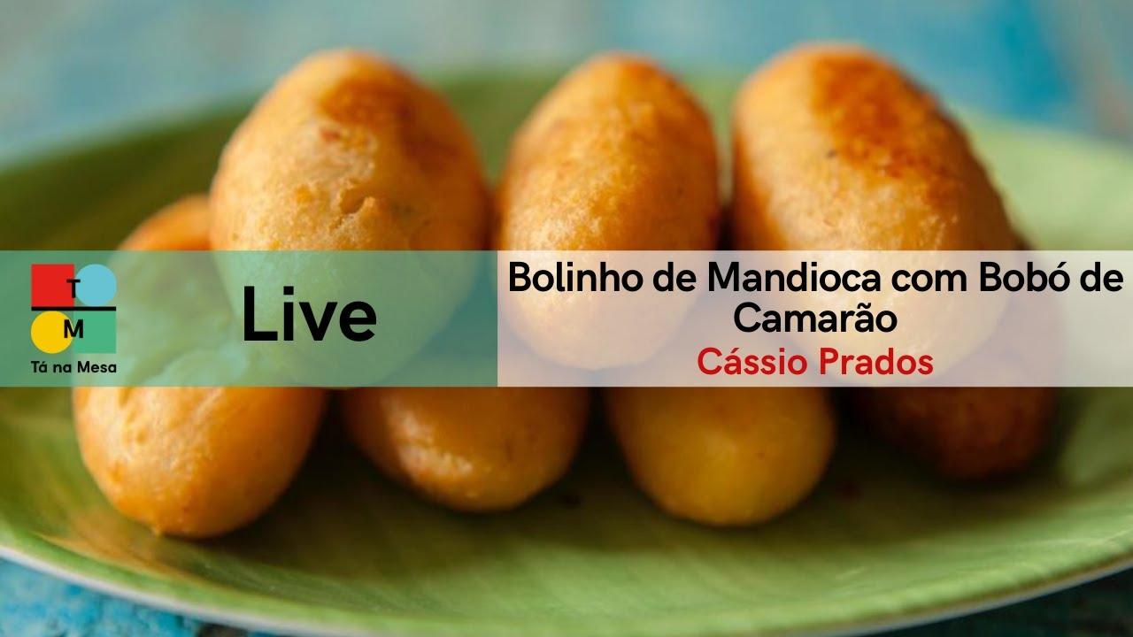 Receita da mesa Receitas com Mandioca - Cássio Prados (24/06/2020)