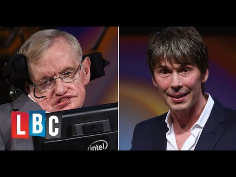 Professor Brian Cox's Beautiful Tribute To Stephen Hawking