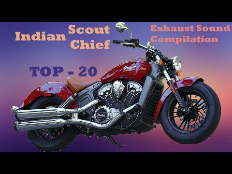 Indian Scout / Chief best exhaust sounds