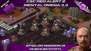 Mental Omega 3.3 Red Alert 2 Act II - Yuri Mission 14 Huehuecoyotl
