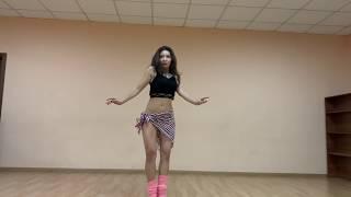 Девушка из Казахстана танцует танец живота видео уроки