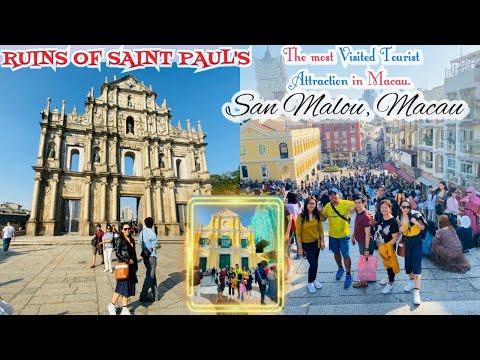 macau-vlog-part---2-ruins-of-saint-paul-to-saint-dominic-church-at-san-malo,-macau