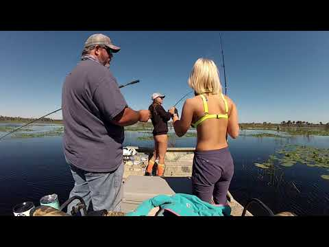 Huntress Jen, Bailey Griffis, Airboat Bass & Bow-fishing
