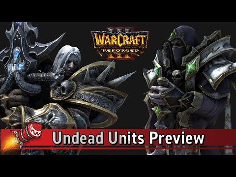 Warcraft III Reforged: Undead Units Preview