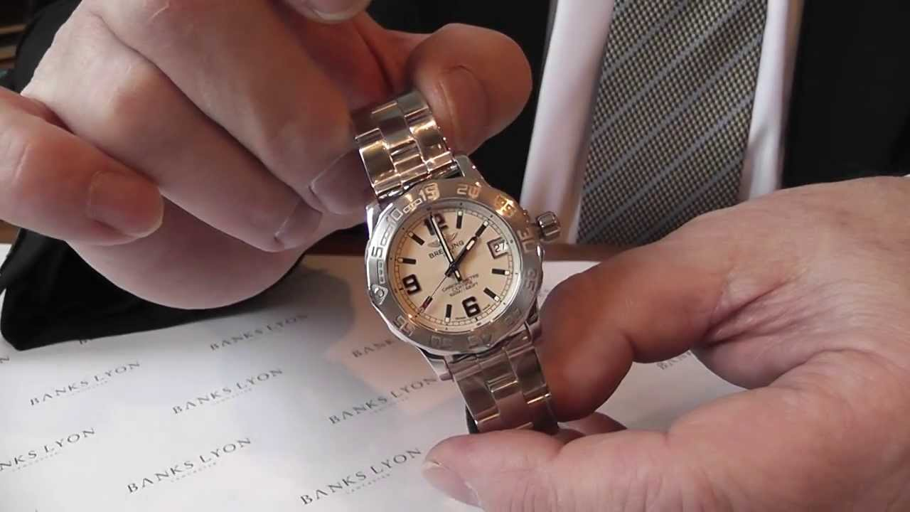 Tag Heuer Uk >> Bob's Blog: A Ladies Watch Comparison - Omega, Breitling & TAG Heuer. - YouTube