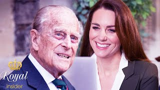 The real reason Prince Philip & granddaughterinlaw Catherine get along so well   Royal Insider