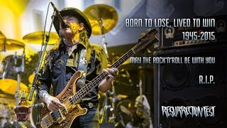Motörhead at Resurrection Fest 2015, last show ever in Spain. Full ...