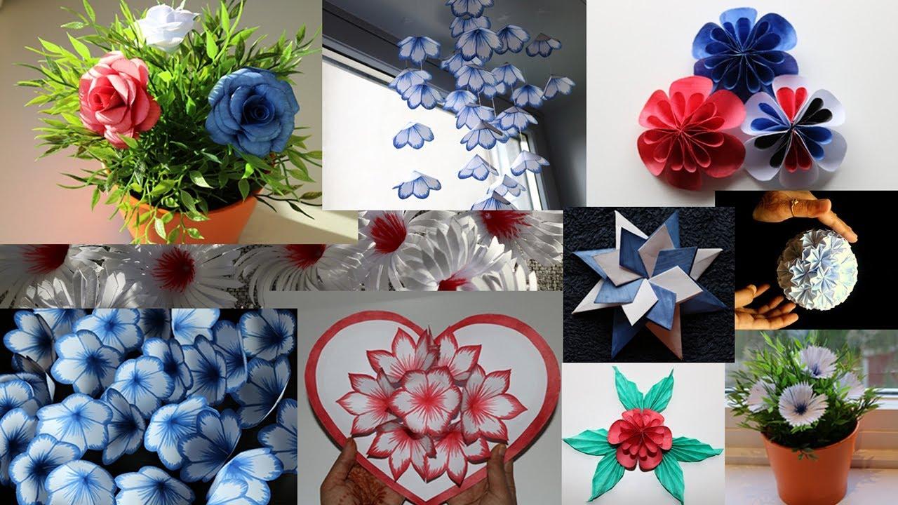 Paper Craft Compilation Diy Handmade Crafts And Interior Designs