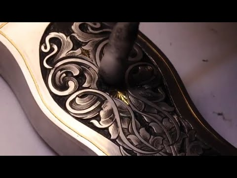 Hand Engraved Dagger PART 2