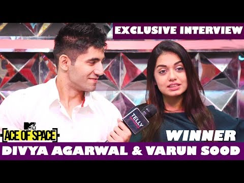 Divya Agarwal & Varun Sood INTERVIEW On Their Chemistry & Winning MTV Ace Of Space | Telly Reporter