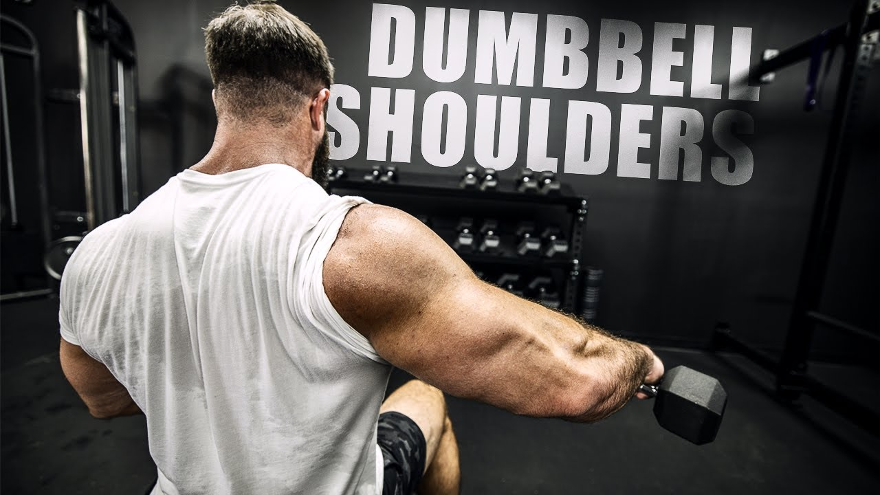 Download PERFECT Dumbbell Shoulder Workout (Get HUGE ROUND DELTS!)