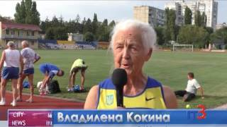 Кубок Украины по легкой атлетике среди ветеранов в Черноморске