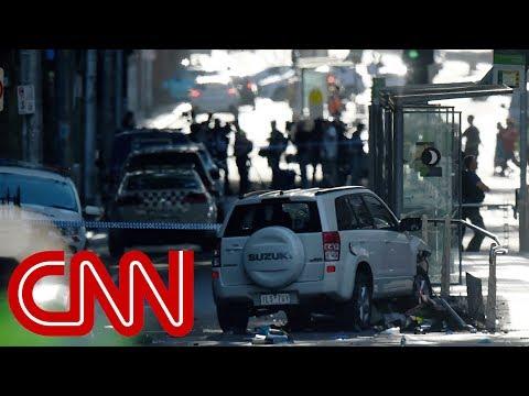 Car plows into pedestrians in Melbourne, 18 injured