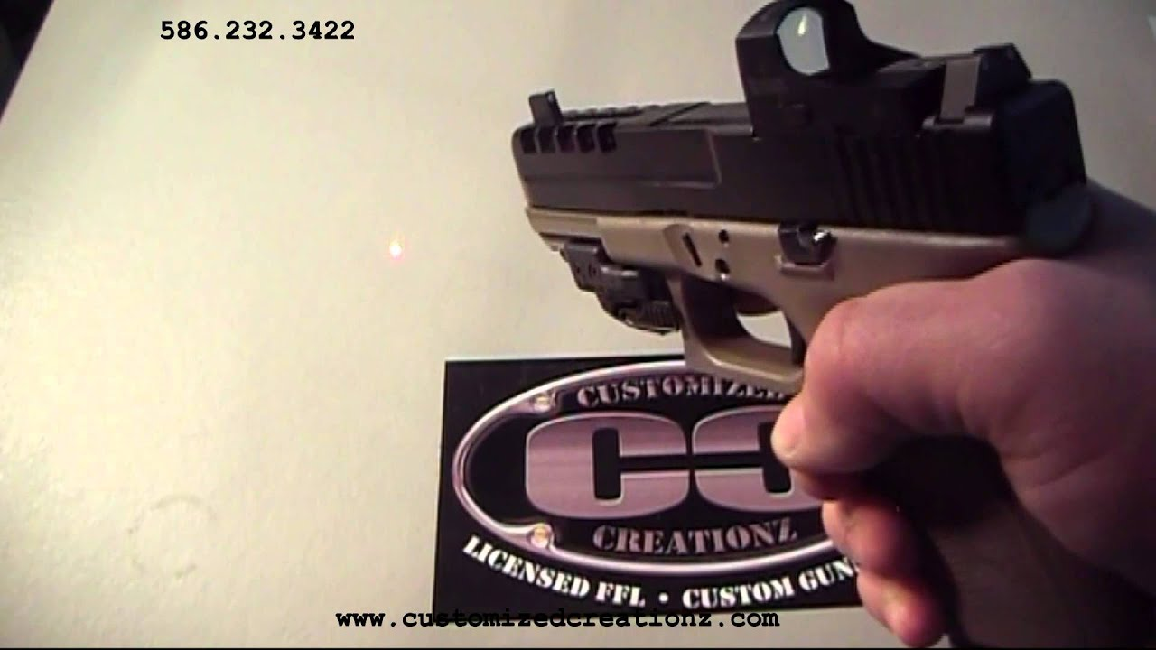 M And P Shield Laser Customized Creationz B...
