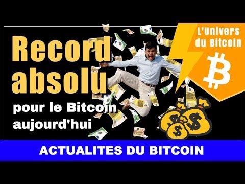 Record Absolu Pour Le Bitcoin Aujourd'hui Qui A Atteint Les 3200$