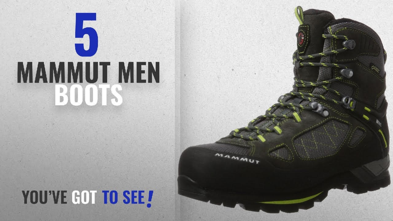 980c0c703d3 Top 10 Mammut Men Boots [ Winter 2018 ]: Mammut Comfort Guide High GTX  Surround Men's Walking Boots,