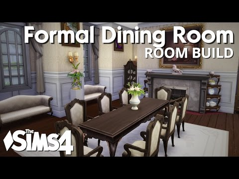 The sims 4 house building futuristic house doovi for Dining room ideas sims 4