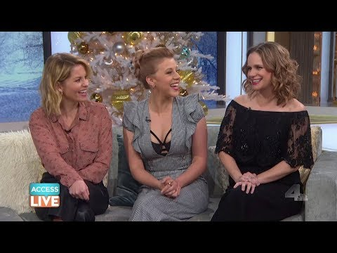 Access Live 122017 Candace Cameron Bure, Jodie Sweetin & Andrea Barber