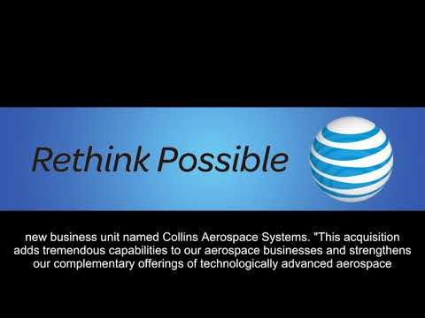 United Technologies to buy Rockwell Collins for $30 billion, combine aerospace operations