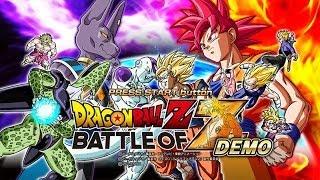 DEMO - Dragon Ball Z Battle of Z / XBOX 360 FR/HD