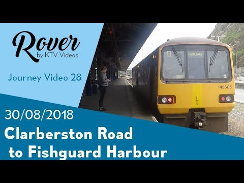 Clarbeston Road To Fishguard Harbour Journey Video
