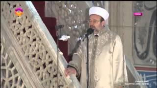 Diyanet İşleri Başkanı Görmez, Edirne Selimiye Camii'nde halka hutbe irad etti…