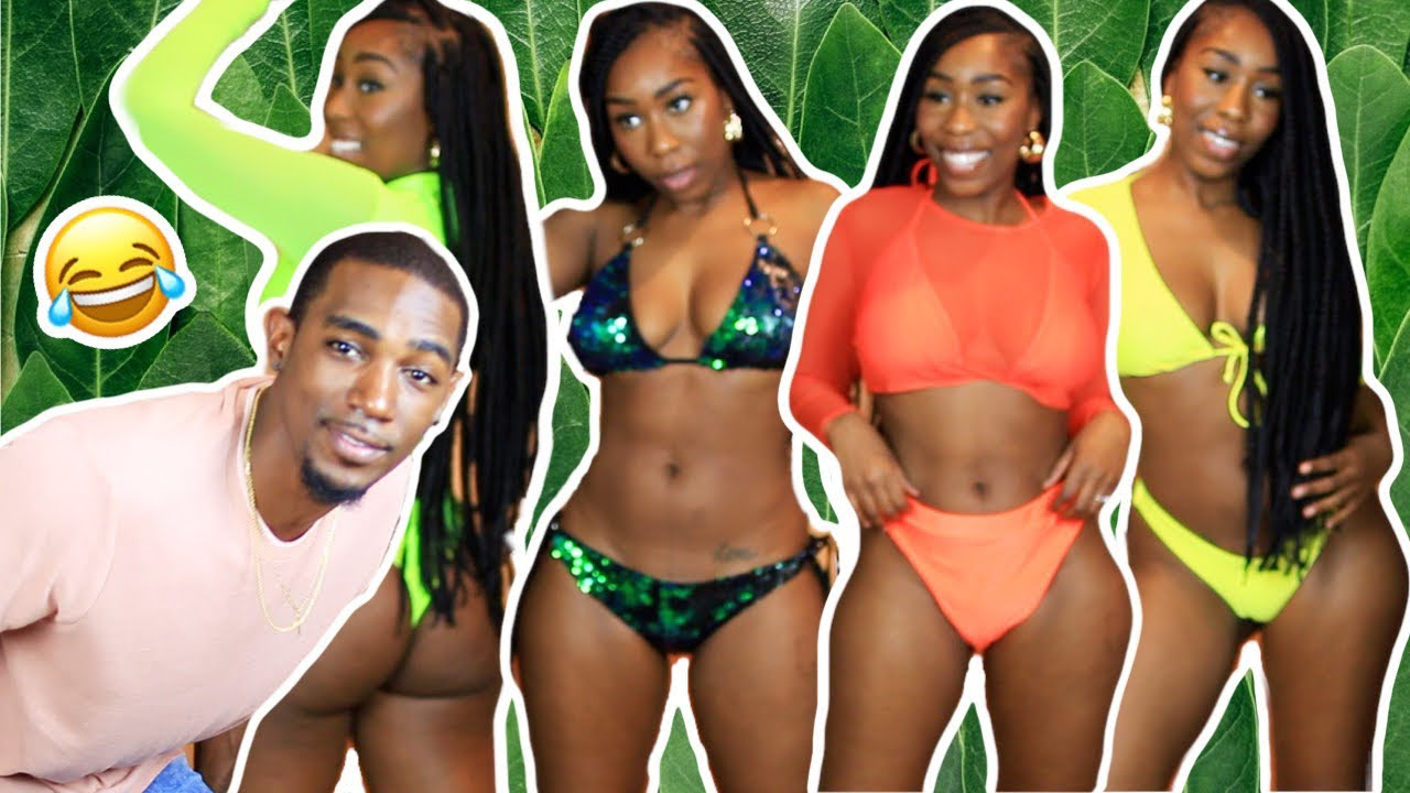 BOYFRIEND RATES MY SUMMER SWIMSUIT OUTFITS ?? FT AFRICAN MALL 3