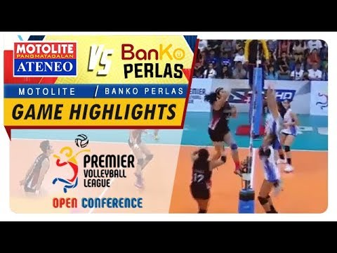 PVL OC 2018: Ateneo-Motolite vs. BanKo-Perlas | Game Highlights | November 10, 2018