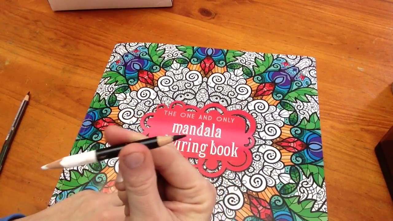 The One And Only Mandala Coloring Book Review Pencil Tips